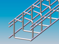 Cable trays with lock